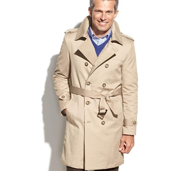 43c03eb9 Men's RL trench coat NWT NWT